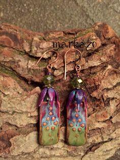 Bohemian maiden by markaZo on Etsy Handmade Beads, Handmade Jewelry, Handmade Items, Handmade Gifts, I Love Jewelry, Unique Jewelry, Artisan Jewelry, Wearable Art, My Etsy Shop