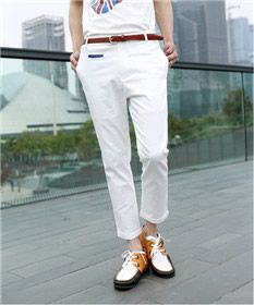 HIEND British Style Bound Feet Ninth Pants 27$USD Mens Summer T Shirts, British Style, Polo Shirt, Clothes, Fashion, Outfits, Moda, Polos, Clothing