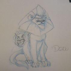 Today drawing :lions #comics #cartoonstyle #cartoons #DGDOdraw #cartoon #doodles #girl #comic #dailysketch #dessiner #dessins #dibujo #dibujos #drawn #drawing #handdrawn #illustration#pencil #lions #lion #drawings #sketch #sketchbook #sketches