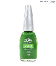 Maybelline Colorama Nail Color Verde Palmeira - Maybelline New York takes trends from the catwalk to the sidewalk, empowering women to make a statement, explore new looks, and flaunt their own creativity and individuality. http://www.snapdeal.com/product/Maybelline/30590?utm_source=Fbpost_campaign=Delhi_content=27459_medium=270912_term=Prod#