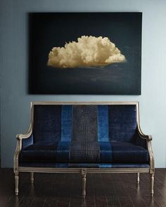 """Cloud Dream"" Giclee Framed Wall Canvas Painting"