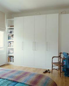 White wardrobe doors