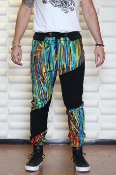 Unisex Pants/Drop Crotch Pants/Harem Pants/Pants baggy/Man's Pants/Casual Pants by CARAMELfs MP2215 HLR3q8