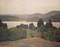 Lake Kashagawigamog by A J Casson | All Canadian Art