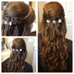 Prom hairstyle. #HairByKimberly
