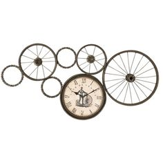 UM-06660 Uttermost Freewheel-Clock-Metal $217.80 free ship