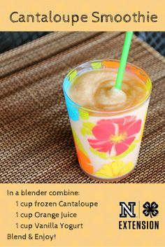 A refreshing kid friendly treat loaded with vitamin A and C.