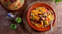Cuscús de Fez de 7 verduras (Couscous Dial Fes) - Najat Kaanache - Receta - Canal Cocina