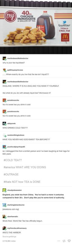 19 Times American Tumblr And British Tumblr Went Head To Head
