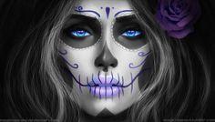 Online Buy Wholesale sugar skull painting from China sugar skull ...