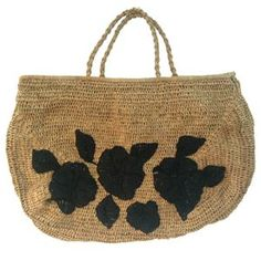 Provence basket embroidered NORO
