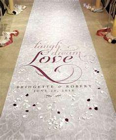 Love wedding runner