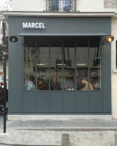 Los Angeles owned Cafe--Marcel, 1 Villa Léandre, Montmartre Paris © Tristane de La Presle