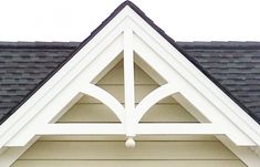 Decorative Gable: GP200 with FINIAL | Decorative Gable Trim ...