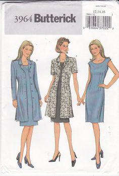 Sleeveless Dress Sewing Pattern Jacket Unlined by Ziatacraft