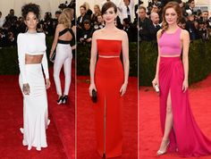 """In honor of legendary designer Charles James, the """"white tie"""" theme at the 2014 Met Gala saw celebrities dressed up to the nines in everything from dramatic ball gowns to regal coattails. Check out the top 10 star trends we spotted on fashion's biggest night."""
