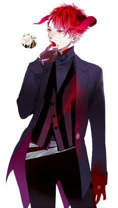 Anime boy - RENDER [2] by IzanamiSatu