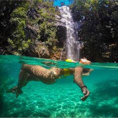 53 Ideas Nature Summer Waterfalls For 2019 Swimming Photography, Photography Poses, Nature Photography, Foto Picture, Foto Pose, Summer Pictures, Belle Photo, Underwater, Waterfall