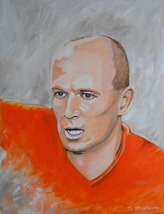 Arjen Robben Artwork