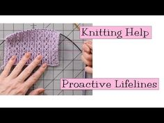 YouTube:  How To Rip Out Knitting When A Mistake Has Been Made