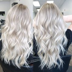 Platinum white blonde balayage http://scorpioscowl.tumblr.com/post/157435636450/more