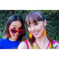 Katy Perry makeup inspired l Heart shaped sunglasses l watermelon l bananas l Renata Ferraz l Blog Get Trendy l Joao Sebastiao