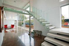 Luxury Homes Hawthorn in Melbourne, Australia. Agen Sales by Kay & Burton Dream home pictures on div Beautiful Stairs, Open Space Living, Design Blog, Design Ideas, Home Pictures, Staircase Design, Luxury Kitchens, Architect Design, My Dream Home
