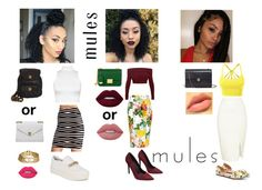 """""""Mules Contest Preview"""" by queen-af11 on Polyvore featuring JustFab, Chanel, LE3NO, Ash, Lime Crime, Henri Bendel, WearAll, Wet Seal, WithChic and Melissa McCarthy Seven7"""