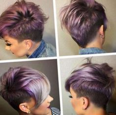 Trendy Asymmetrical, Short Hairstyle - Popular Short Hair Cuts 2017 - 2017