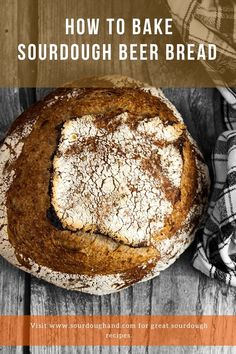 Give your next bread some amazing flavor with your favorite beer. This sourdough beer bread recipe will give you the information you need. Sourdough Recipes, Sourdough Bread, Bread Recipes, Oven Plate, Baking Stone, Beer Bread, Recipe Notes, Olives, Tasty