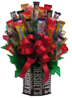 everyday treasures fromThe Domestic Curator: VALENTINE'S DAY CANDY BOUQUET