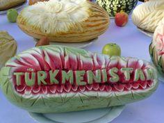 STRANGE FOOD FUN & STRANGE HOLIDAYS - AUGUST 12TH MELON DAY IN TURKMENISTAN!