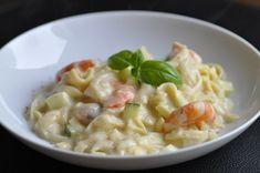 One pot pasta ou one pan pasta saumon crevette