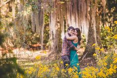 Boone Hall Fall Engagement Richard Bell Photography | Allison and Matthew are engaged!