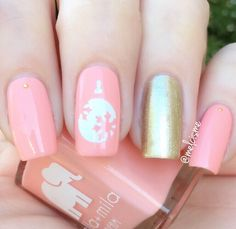 ella mila Bubble Trouble + Gilded Christmas Nails, Christmas Ornaments, Stencils, Bubbles, Nail Polish, Nail Art, Photo And Video, Instagram Posts, Beauty
