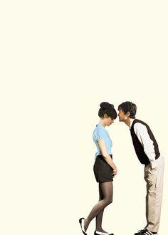 500 Days of Summer, Zoeey Deschanel and Joseph-Gordon Levitt. LOVE this movie.
