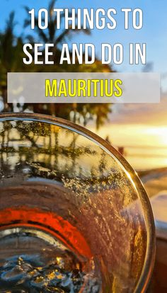 The Top 10 Things to See and Do in Mauritius