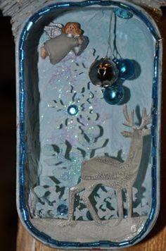 Collabor-ART: Christmas Sardine Tin Finale