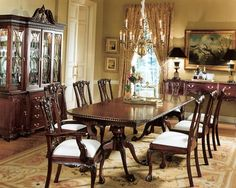 Everything You Need To Know About Chippendale Furniture Dinning Room Tables Dining Design