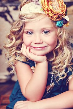 Big flower headbands for little girls   -skyejohansen.com