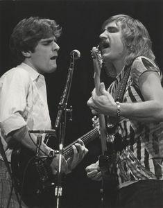 "joewalshisokiguess: ""Glenn Frey and Joe Walsh "" Eagles Music, Eagles Band, Kinds Of Music, My Music, Music Life, Rock N Roll, Joe Walsh Eagles, History Of The Eagles, Glen Frey"