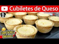 CUBILETES DE QUESO   Vicky Receta Facil - YouTube
