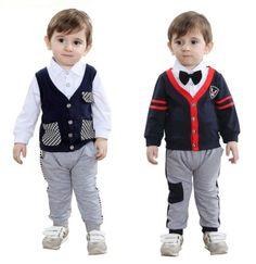 2pcs Baby Boys Toddler Children Kids Top T-shirt+Pants Outfit Clothes Set Suit #CasualFormalParty