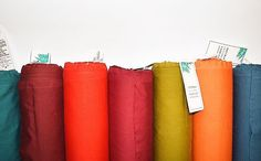 37 new INDAH Solid Colors #modernquilting #solidfabric #indahsolids #modern #quilting #quilts #hoffmanbalibatiks