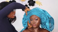 Detailed tutorial on how to tie gele (step by step) Detailed tutorial on how to tie gele (step by step) African Head Scarf, African Hair Wrap, African Head Wraps, African Wear, African Dress, African Hairstyles, Scarf Hairstyles, How To Tie Gele, How To Wear Hijab