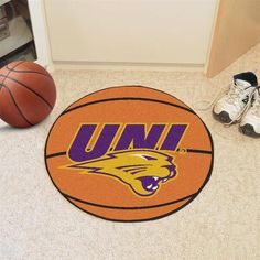 University of Northern Iowa Basketball Floor Rug Mat