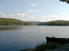 Lake Sebago, Harriman State Park, New York
