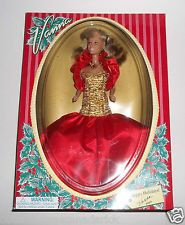 Totsy Vintage Vanna White Wheel of Fortune Happy Holidays Doll - NEW