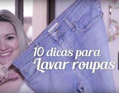 10 dicas de como lavar roupas sem danificá-las e com a quantidade certa de sabão em pó OMO