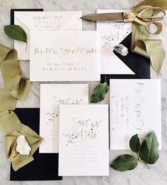 mixed one of our fave save the date layouts with some foliage from an old menu to create this simple botanical piece for a client 🌿 also… Go Green, Save The Date, Menu, Dating, Place Card Holders, Create, Simple, Instagram Posts, Layouts